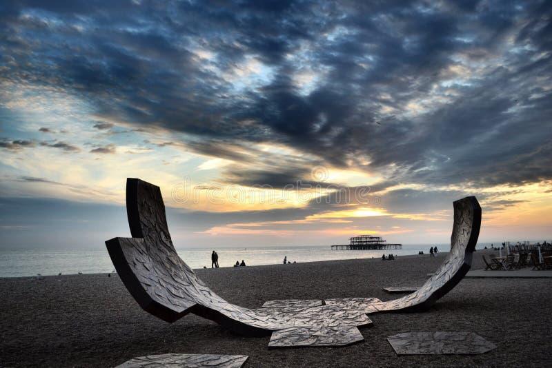 Brighton Beach image stock