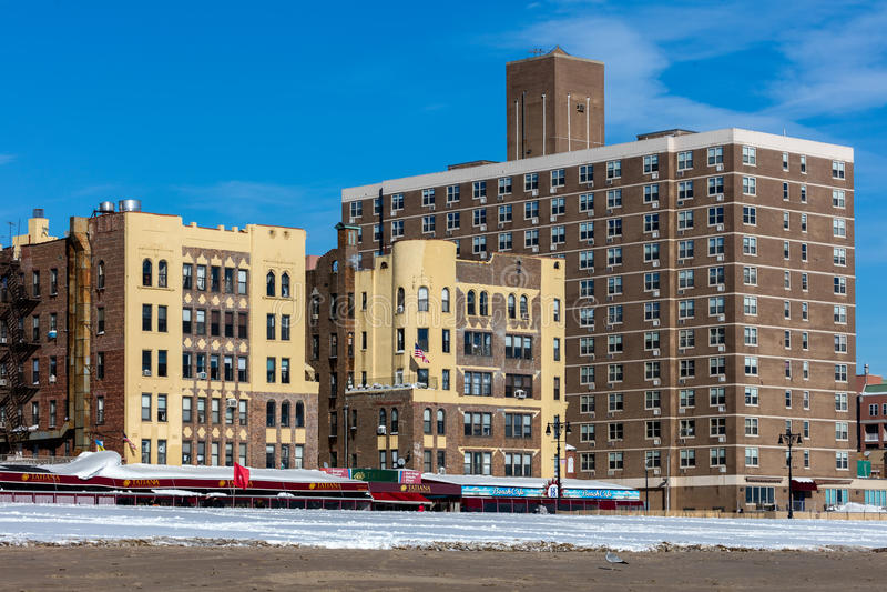 Download Brighton Beach, Brooklyn, New York Fotografia Editorial - Imagem de edifícios, praia: 65580967