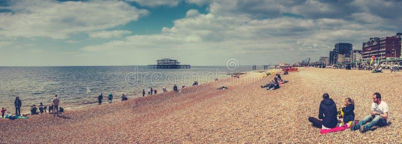 Download Brighton beach editorial stock photo. Image of architecture - 41918288
