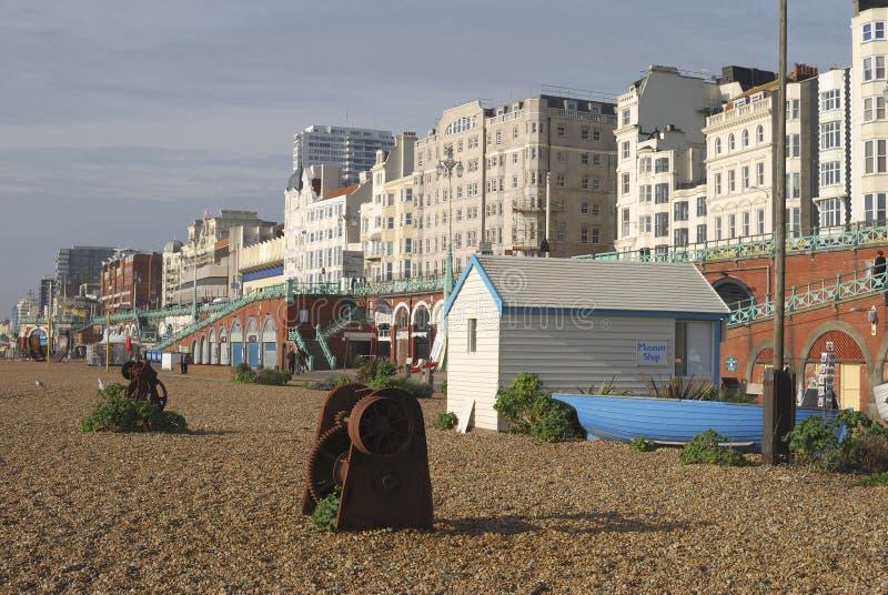 Brighton Beach. Sussex. Inglaterra foto de archivo