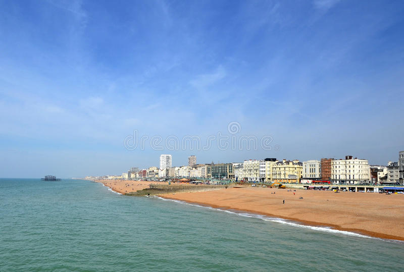 Brighton Beachfront imagem de stock royalty free