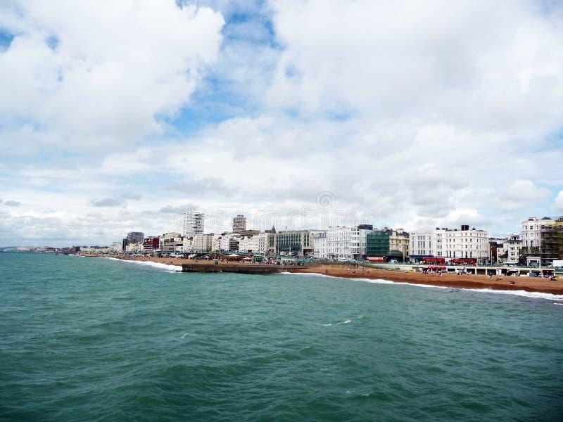 Brighton dal pilastro fotografia stock