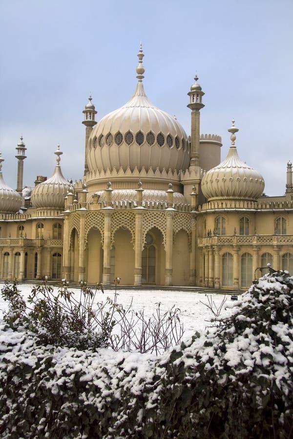 Brighton in de winter stock afbeeldingen