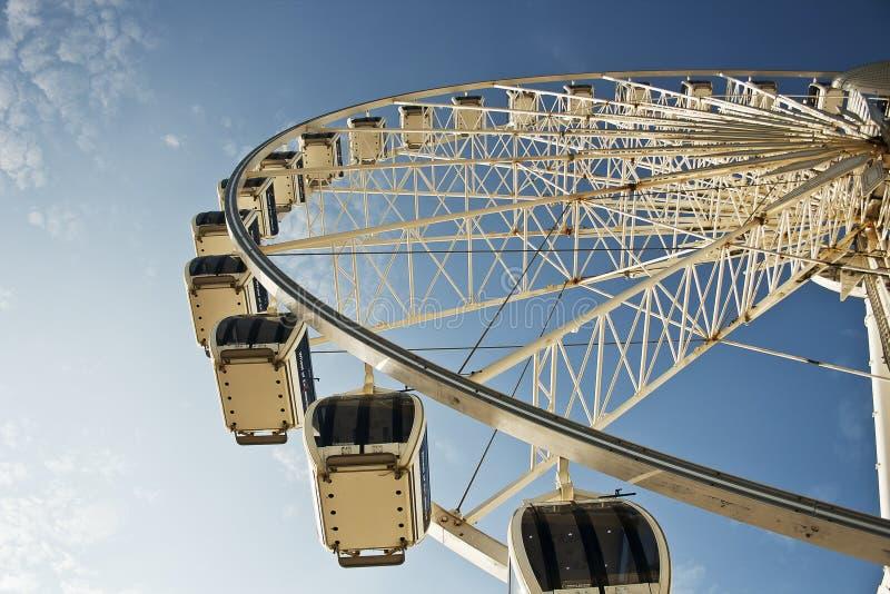 Brighton Duży koło fotografia stock