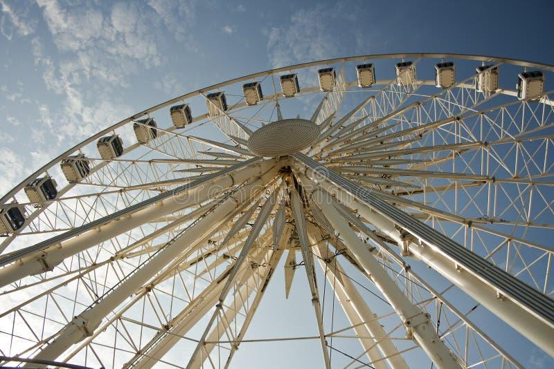 Brighton Duży koło zdjęcia stock