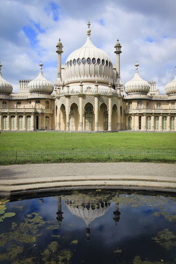 brighton England pałac pawilonu regencja zdjęcie royalty free