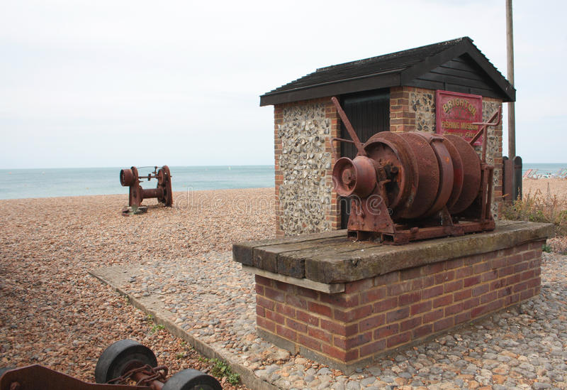 Brighton Fishing Museum imágenes de archivo libres de regalías