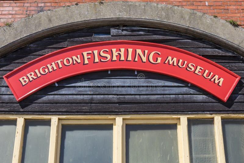 Brighton Fishing Museum foto de archivo libre de regalías