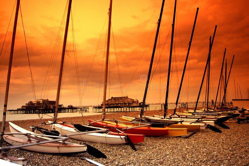 Brighton, Großbritannien    stockfotografie