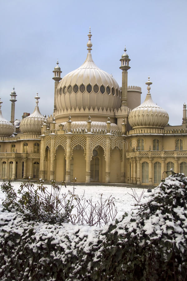 Brighton im Winter stockbilder