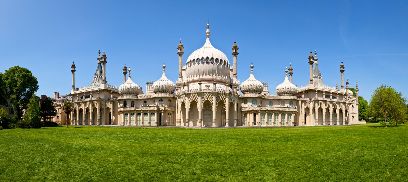 Brighton Królewski pawilon zdjęcie stock