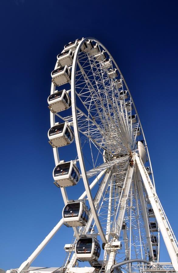 Brighton la roue neuve d'Angleterre - Brighton images libres de droits