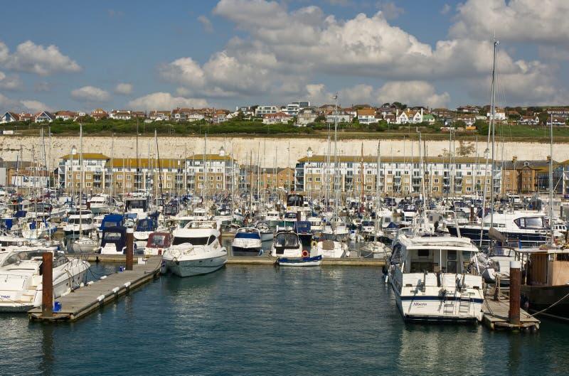 Brighton Marina, le Sussex, Angleterre image libre de droits