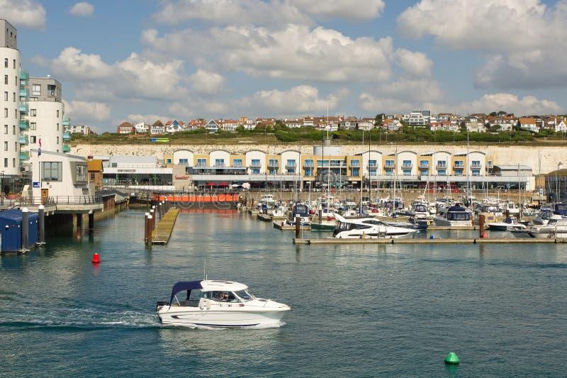 Brighton Marina, le Sussex, Angleterre photographie stock