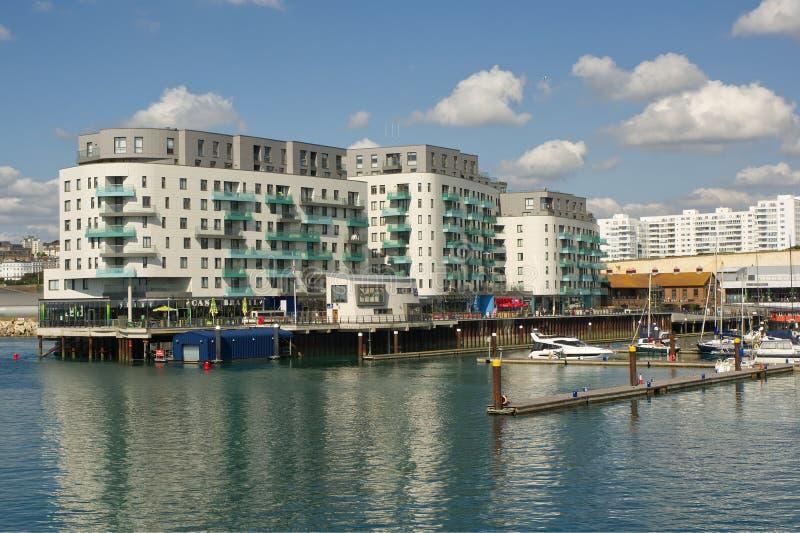 Brighton Marina, le Sussex, Angleterre photo libre de droits