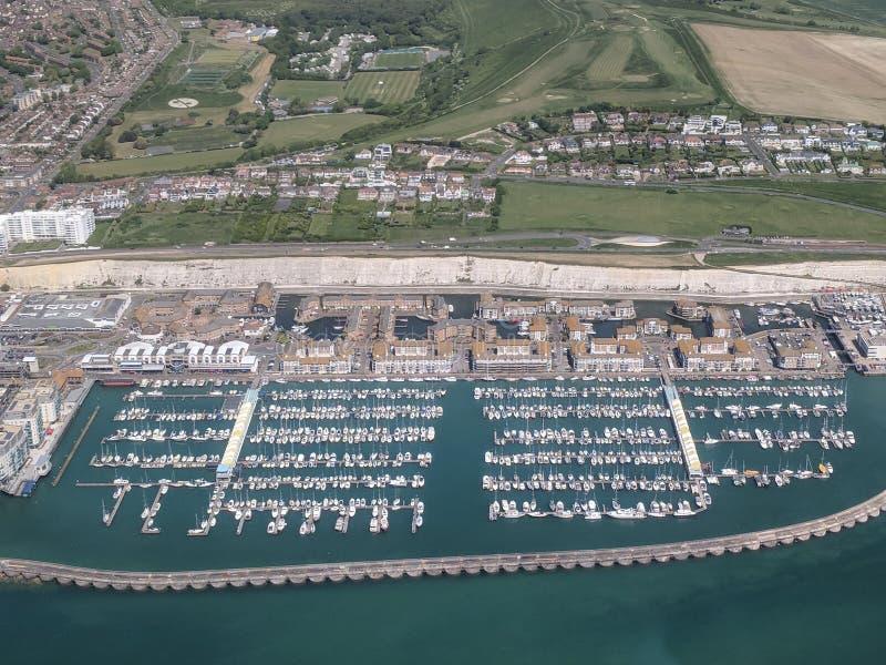 Brighton Marina imágenes de archivo libres de regalías
