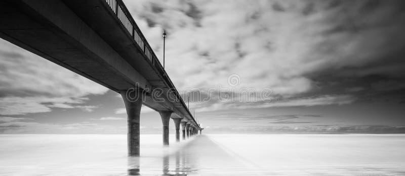 Brighton molo Christchurch, Nowa Zelandia fotografia royalty free