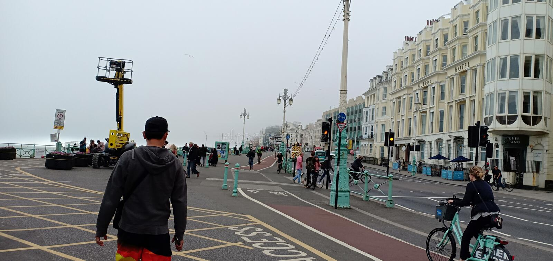 Brighton molo uk zdjęcie stock