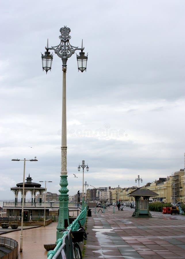 Brighton nadbrzeże obrazy royalty free