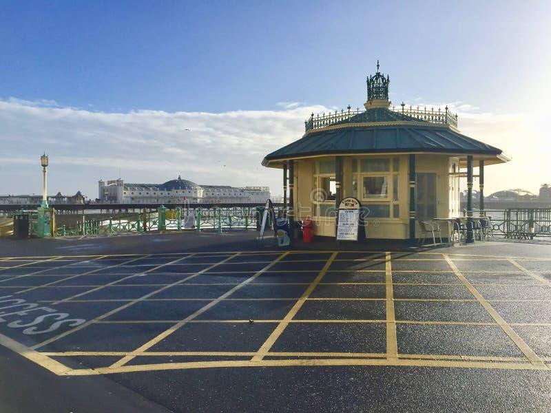 Brighton Palace Pier a Brighton fotografia stock libera da diritti