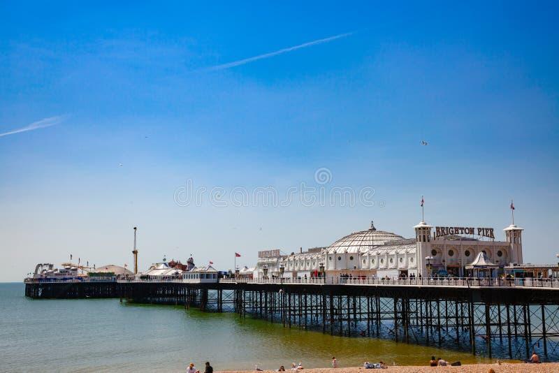 Brighton Palace Pier Brighton East Sussex Inglaterra suroriental Reino Unido imágenes de archivo libres de regalías