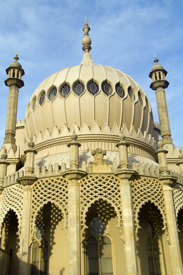 Brighton-Pavillion stockfoto
