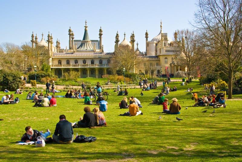 Brighton Pavillion royal photographie stock libre de droits