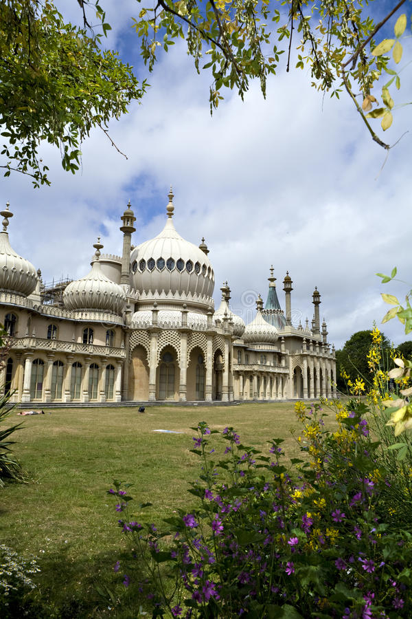 brighton pavillionkunglig person royaltyfri bild