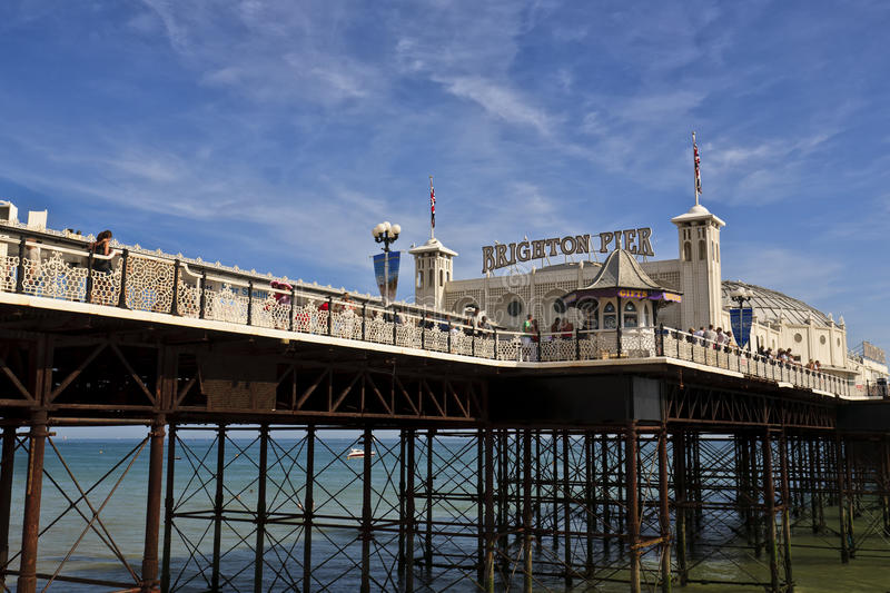 Download Brighton pier editorial photography. Image of kingdom - 25457532