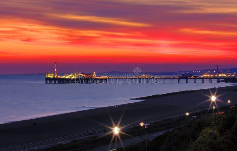 Download Brighton Pier stock photo. Image of jetty, europe, arcade - 7681796
