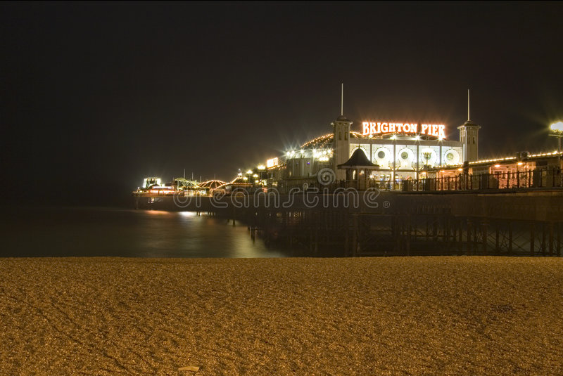 Brighton Pier South England stock photography