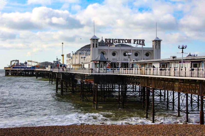 Brighton Pier Brighton photos libres de droits