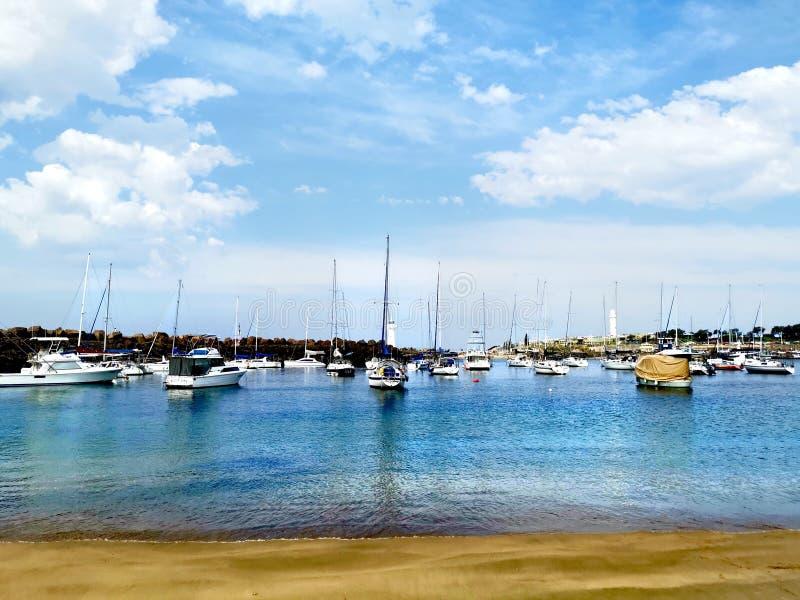 Brighton plaża, Wollongong NSW Australia zdjęcie stock