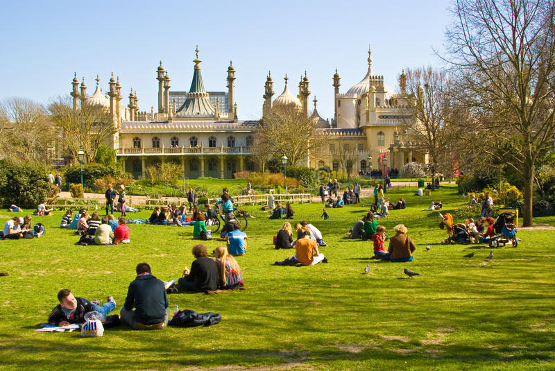 Brighton Royal Pavilion royalty free stock photography