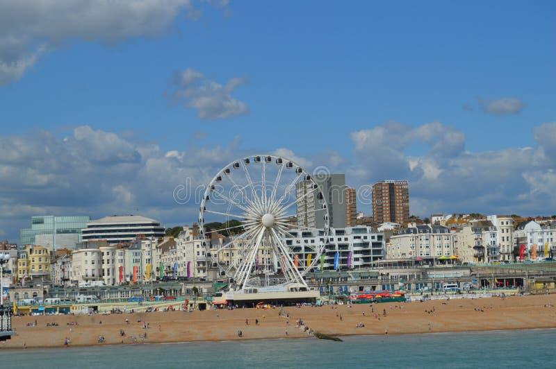 Brighton Sea Front images libres de droits