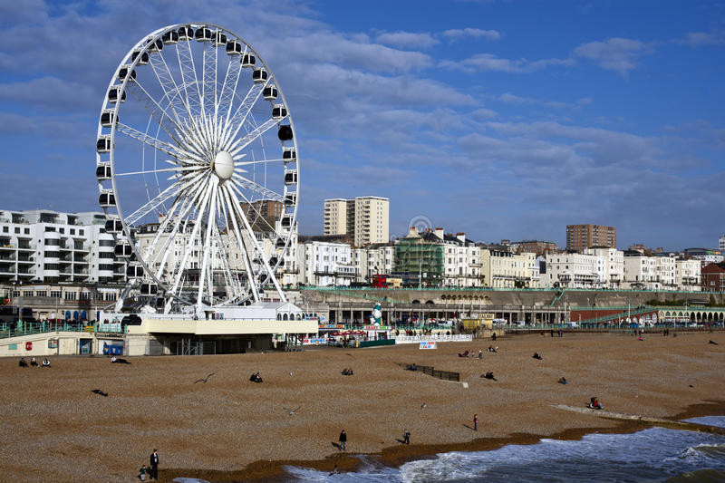 Download Brighton Seafront editorial photography. Image of kids - 24021857