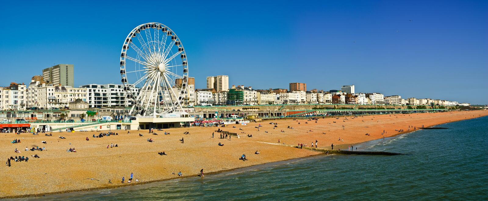 Download Brighton seafront editorial image. Image of architecture - 24331000