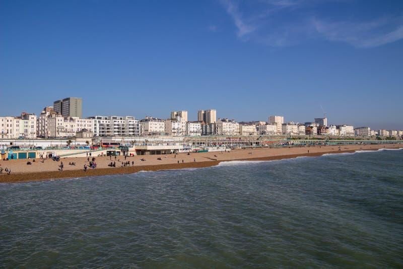Brighton Seafront imagen de archivo