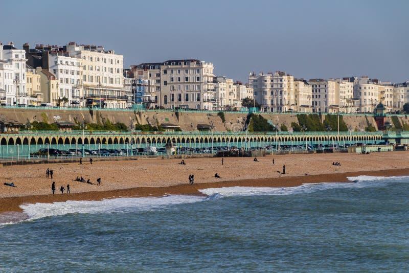 Brighton Seafront fotografía de archivo libre de regalías