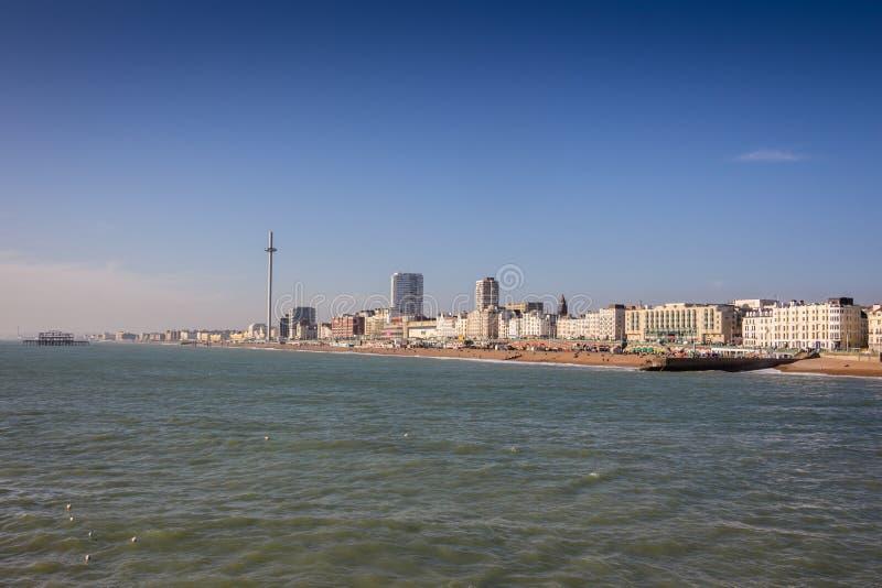 Brighton Seafront fotos de archivo libres de regalías