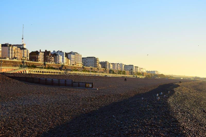 Brighton seafrontt fotografia royalty free