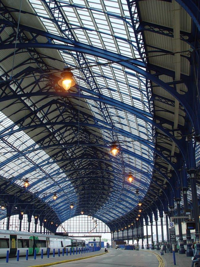 Brighton-Station lizenzfreie stockfotografie