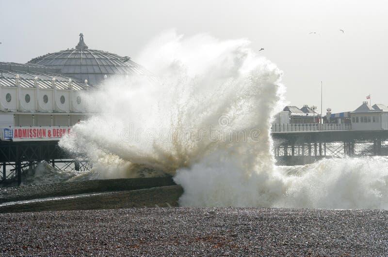 Brighton-Strand stockfotografie