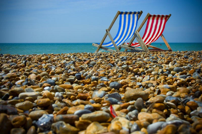 Brighton-Strand. stockbild