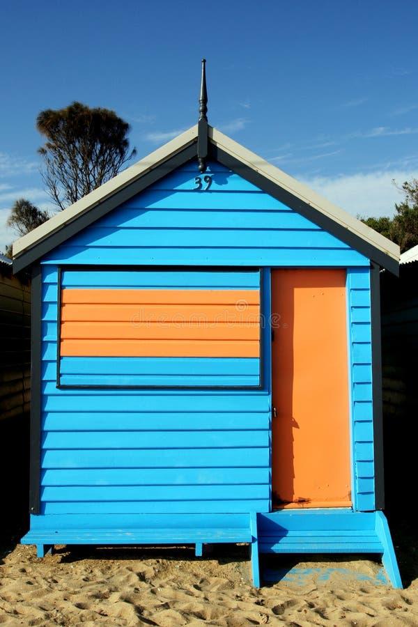 Brighton-Strand, Melbourne stockfotografie