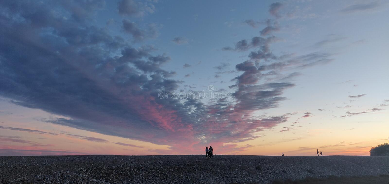 Brighton Sunset photographie stock libre de droits