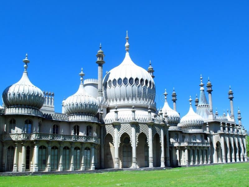 1762 Brighton urodzonej George iii iv starych pawilonów nocy pałacu księcia królewskiego syna sfotografował Wales zdjęcie stock