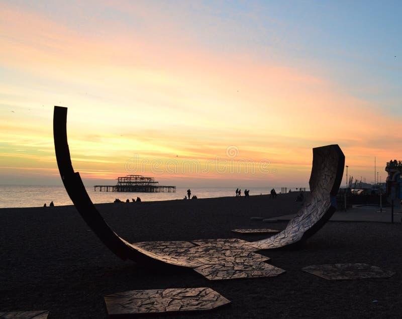 Brighton West Pier photos libres de droits