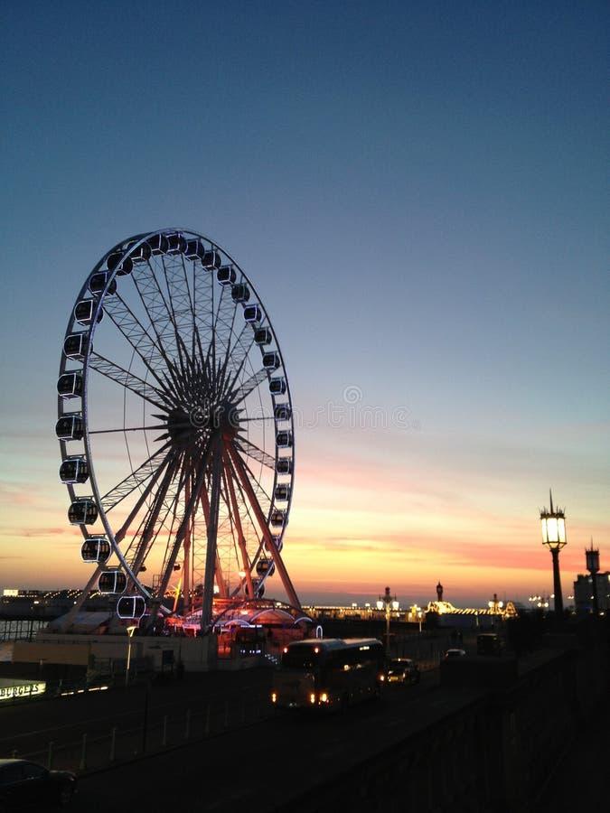 Brighton Wheel photographie stock libre de droits