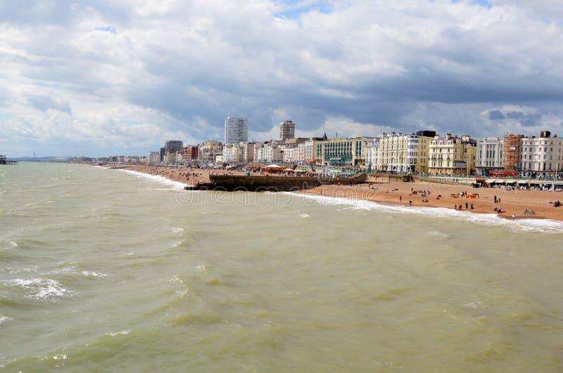 Brighton wybrzeże obrazy royalty free